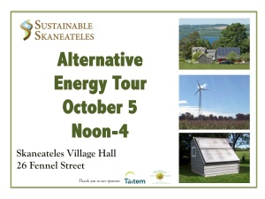 Energy Tour Lawn Sign 9-11