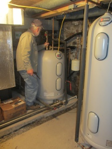 Hot water storage