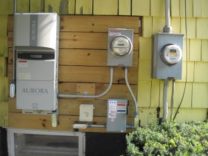 Solar inverter and electric meters